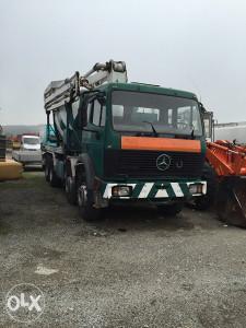 Mercedes - beton pumpa