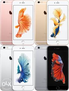 Iphone 6s plus 16gb novoo