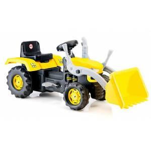 Traktori, traktor s kašikom,igračke,bicikla