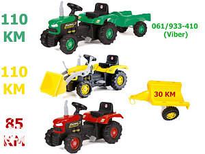 Traktori, traktor DOLU igračke,bicikla
