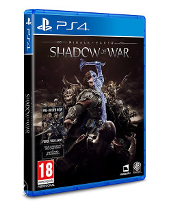 Middle-earth Shadow of War (PlayStation 4 - PS4)