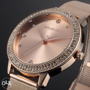 Ženski sat TAYLOR COLE novi model ROSE GOLD