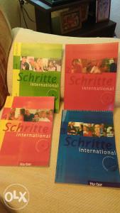Knjiga za njemački Schritte 1,2,3 i 4