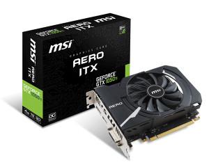 Msi Nvidia GTX 1050 Ti Aero OC 4GB DDR5 Dx12