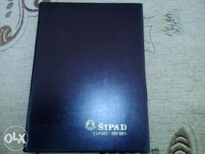 Rokovnik SIPAD 1982 god.