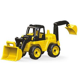 DOLU Traktor - Bager - rovokopač, razne igračke