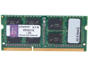 Kingston 8GB DDR3 Low Voltage 1600MHz 1.35v sodimm