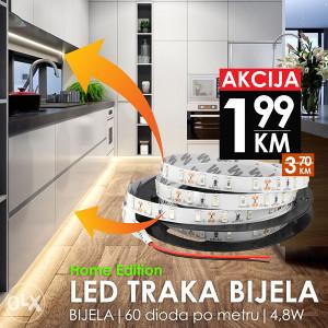 LED traka 3528 60SMD 4,8W Home BIJELA