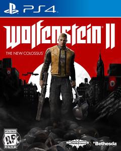 WOLFENSTEIN II THE NEW COLOSSUS PS4. DIGITALNA IGRA