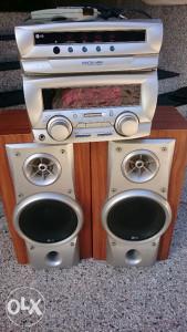 LG Pojačalo + Zvučnici LG 100W 6ohm FE 656 E