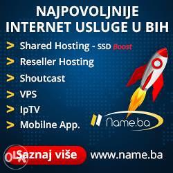 Web Hosting 10 GB - 100GB - Neogranicen