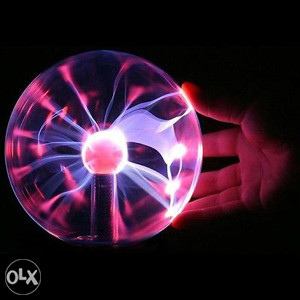 Lampa - Teslina plazma kugla (Plasma ball, Tesla)