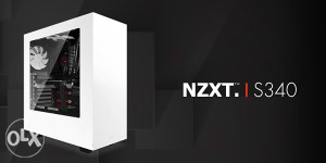 NZXT S340 GTX1080 8GB Gamer: Ryzen 5 1600 12x3.2-3.6GHz