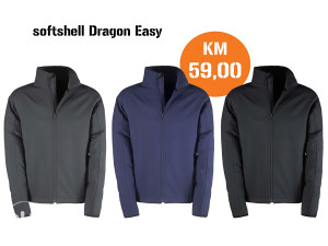 JAKNA SOFTSHELL DRAGON EASY