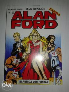 Alan Ford extra broj 102 Barunica Von Prnyak