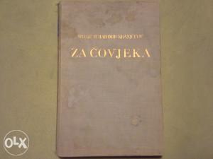 Silvije Strahimir Kranjčević za covjeka izdanje1934