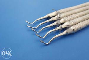 Dentalni / stomatološki ekskavatori (5 kom.)