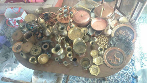 Prodajem razne oblike od mesinga i bakra