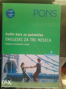 Engleski jezik kurs za POČETNIKE Pons CD+  eliteratura