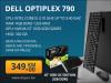 Računar Dell 790 SFF; i5 2400 3,10 GHz; 4GB RAM