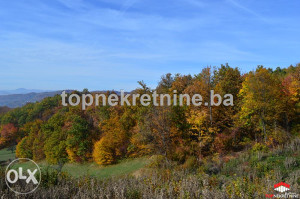 Zemljište 3821 m2 Kremeš Vogošća