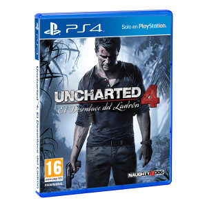 Uncharted 4 A Thiefs End (PlayStation 4 - PS4)