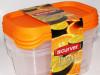 Curver Posude za Hranu Transparent 3x0,5L 7609