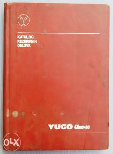 Yugo Jugo Uno 45 Katalog rezervnih dijelova