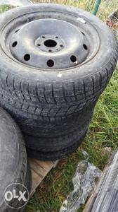 Celicne felge 16-ke s gumama Renault Laguna