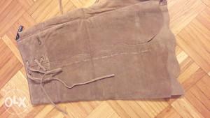Ženska suknja Morgan (brušena koža) vel. 40 NOVO