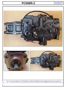 Komatsu PC50 MR pumpa hidraulike