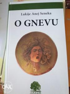 KNJIGA O GNEVU - Lukije A. Seneka