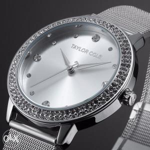 Ženski sat TAYLOR COLE novi model SILVER