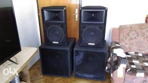 Pasivni zvucnici Yamaha 12'' i Bass Binovi 18''