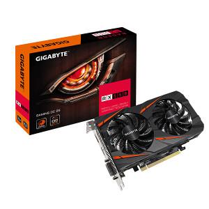 GIGABYTE RX 550 / RX550 2GB DDR5 Gaming OC