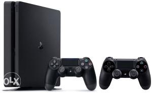 SONY PS4 Slim Crni 500GB + Dualshock