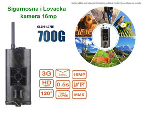 Kamera sa MMS, 3G Lovacka snimanje Divljaci itd.