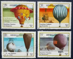 KAMPUCHEA 1983 - Poštanske marke - 0073