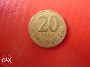 20 Leke 1996 Albanija