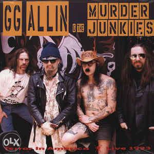 GG Allin - Terror in America Live 1993. - LP