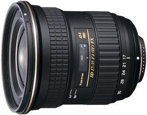 Tokina AT-X 17-35mm / 4.0 PRO FX, Nikon