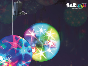 Svjetlosna 3D LED effect kugla