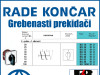 GREBENASTI PREKIDAČ/PREKIDAČI BS 10 91 U
