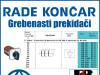 GREBENASTI PREKIDAČ/PREKIDAČI BS 10 53 U