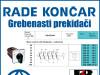 GREBENASTI PREKIDAČ/PREKIDAČI BS 10 19 U
