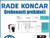 GREBENASTI PREKIDAČ/PREKIDAČI BS 10 66 U