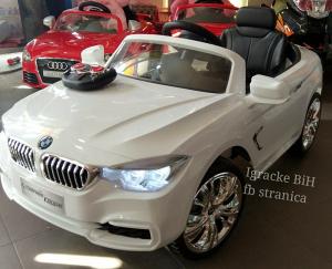 Auto na akumulator autic sa daljinskim BMW NOVO!