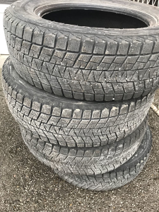 Gume 225/65R17 Bridgestone 7mm
