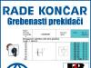 GREBENASTI PREKIDAČ/PREKIDAČI BS 10 51 U