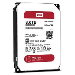 "HDD SATA3 5400 8TB WD Red 3.5"" WD80EFZX, 128MB"